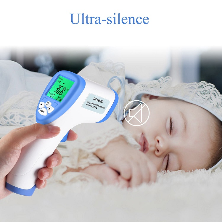 Thermometer infrared forehead digital thermometers gun prices non contact forehead ir laser body manufacturers baby adult