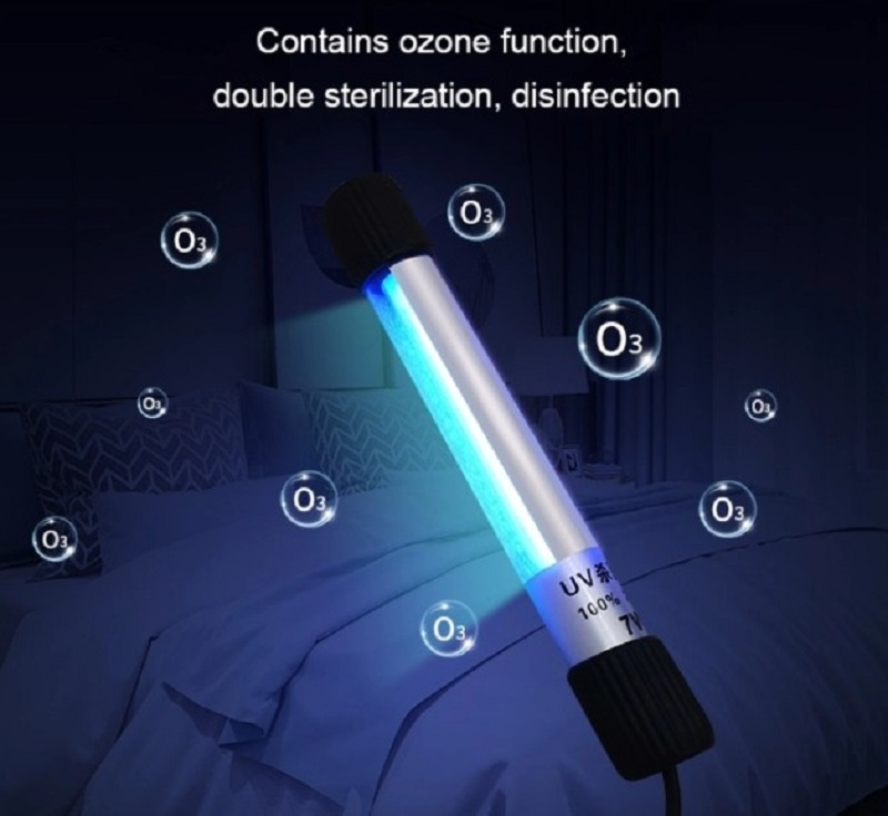 Hot Sale UV Strong Light Disinfection Portable Anti-virus Sterilization Lamp